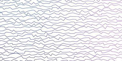 mörkrosa, blå vektorbakgrund med sneda linjer. vektor