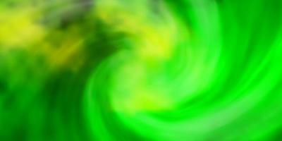 hellgrüne, gelbe Vektorbeschaffenheit mit bewölktem Himmel. vektor