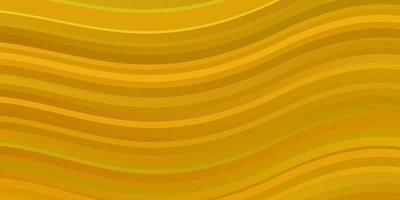 mörkgul vektor konsistens med kurvor.