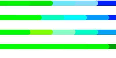 hellblaues, grünes Vektorlayout mit Linien.