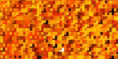 hellorange Vektor Hintergrund mit Rechtecken.