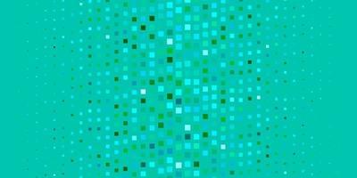 hellblauer, grüner Vektorhintergrund im polygonalen Stil. vektor