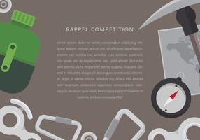 Materialdesign för rappel, påminnelse, anmälan.