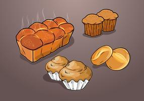 Brioche Bröd vektor