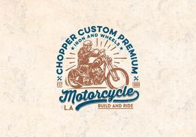 Kundenspezifischer Premiun Motorrad-Vektor