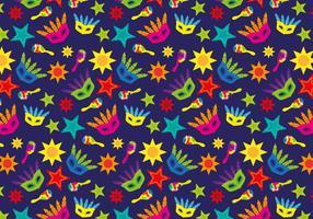 Samba Brasilien Muster Vektor