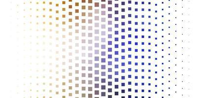 hellblauer, gelber Vektorhintergrund im polygonalen Stil.