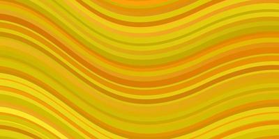 ljusgul vektormall med sneda linjer. vektor