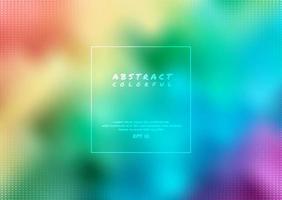abstrakter Regenbogenhintergrund vektor