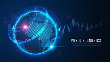 globalt ekonomiskt koncept
