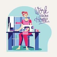 Arbeit von zu Hause aus während des Covid-19-Ausbruchs
