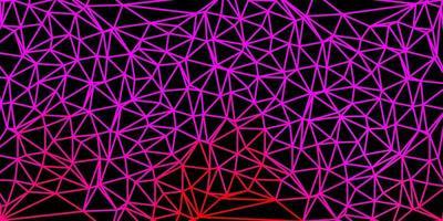 ljusrosa vektor månghörnigt bakgrund.