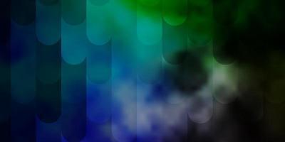 ljusblå, grön vektormall med linjer.