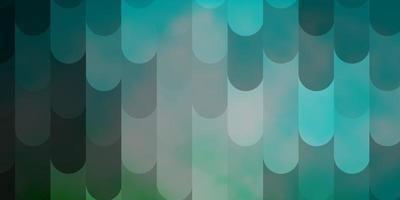 ljusblå, grön vektormall med linjer. vektor