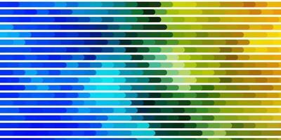hellblaue, grüne Vektorschablone mit Linien.