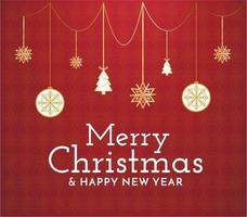abstrakte frohe Weihnachten vektor