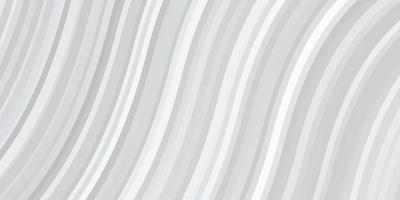 hellblauer Vektorhintergrund mit gebogenen Linien.