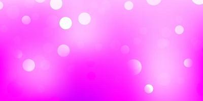 ljusrosa vektormall med abstrakta former.
