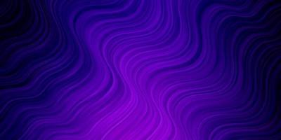 hellviolettes Vektorlayout mit schiefen Linien. vektor