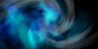 mörkblå vektorlayout med molnlandskap. vektor