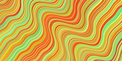 ljus flerfärgad vektorbakgrund med sneda linjer.