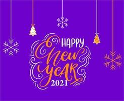2021 frohes neues Jahr