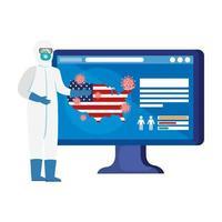 Online-Medizin zur Covid-19-Prävention in den USA