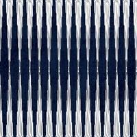 sashiko sömlöst indigofärgmönster med traditionellt vitt japanskt broderi vektor