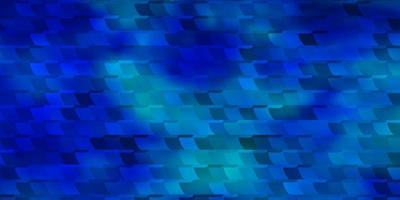 hellblaues Vektormuster im quadratischen Stil.