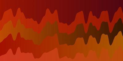 ljus flerfärgad vektormall med böjda linjer.