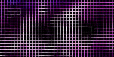hellviolette Vektorschablone mit Rechtecken. vektor