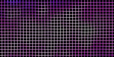 ljuslila vektormall med rektanglar. vektor