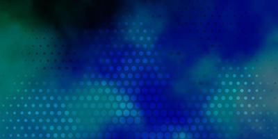 ljusblått, grönt vektormönster med sfärer.