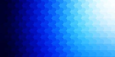 hellblaues Vektormuster mit Linien.