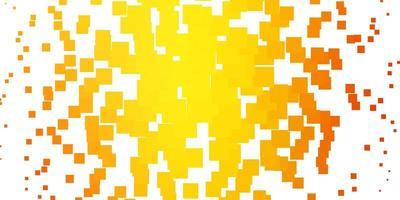ljus orange vektormall i rektanglar. vektor