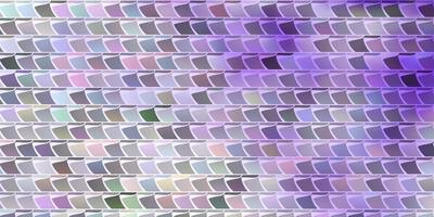 hellviolette Vektorschablone mit Rechtecken.