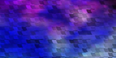 leichtes mehrfarbiges Vektormuster im quadratischen Stil.