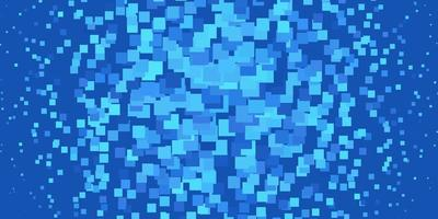 hellblauer Vektorhintergrund mit Rechtecken. vektor