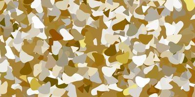 hellgrauer Vektorhintergrund mit chaotischen Formen.