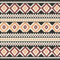 stam etniska färgglada bohemiska mönster med geometriska element, afrikansk lera tyg