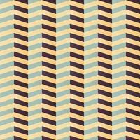 geometrisches nahtloses Chevron-Muster in Retro-Farben vektor