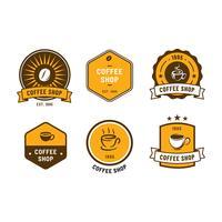 Kaffebutik Logo Vector
