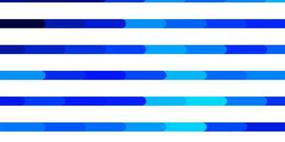 hellblauer Vektorhintergrund mit Linien. vektor