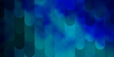 hellblauer Vektorhintergrund mit Linien.