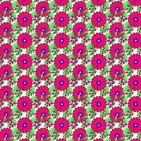 rosa Blumenmusterentwurf für Druckentwurf und Hintergrund
