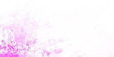 ljusrosa vektor bakgrund med polygonala former.