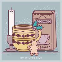 Vektor jul illustration