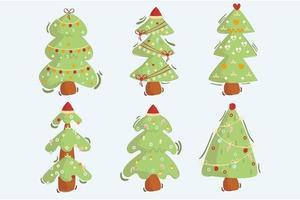 Tiere Weihnachten Illustration Pack vektor
