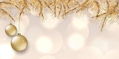 elegantes Weihnachtsbanner-Design