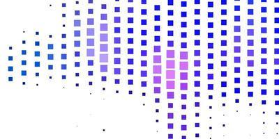 dunkelrosa, blaues Vektorlayout mit Linien, Rechtecken.